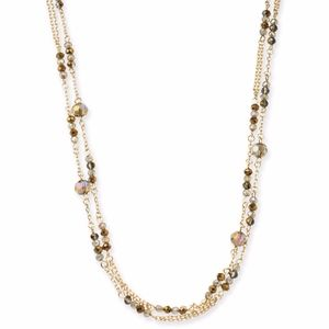 "✨I.N.C Gold-Tone Beaded 60"" Long Layering Necklace"